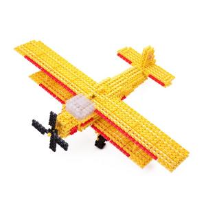 Retro Plane - Fanclastic - 3D creative building set for children