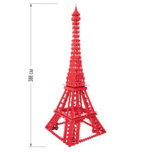 Eiffel Tower - Fanclastic - 3D creative building set for children