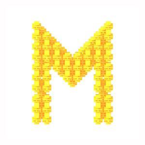 Детский конструктор Фанкластик - Буква М