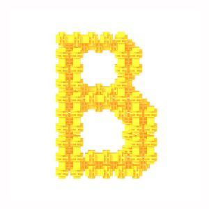 Детский конструктор Фанкластик - Буква В